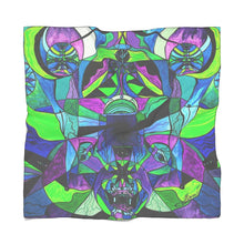 Load image into Gallery viewer, Arcturian Astral Travel Grid - Frequency Scarf
