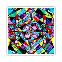 Load image into Gallery viewer, Sacred Geometry Grid - Square Stickers