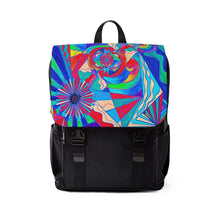 "Load image into Gallery viewer, Pleiadian ""Restore Harmony"" Lightwork Model - Unisex Casual Shoulder Backpack"