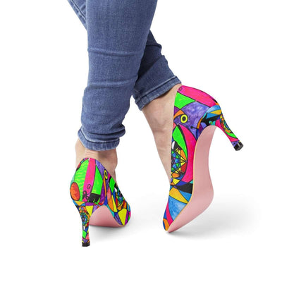 The Power Lattice - Women's High Heels