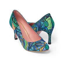 Load image into Gallery viewer, Arcturian Immunity Grid - Women's High Heels