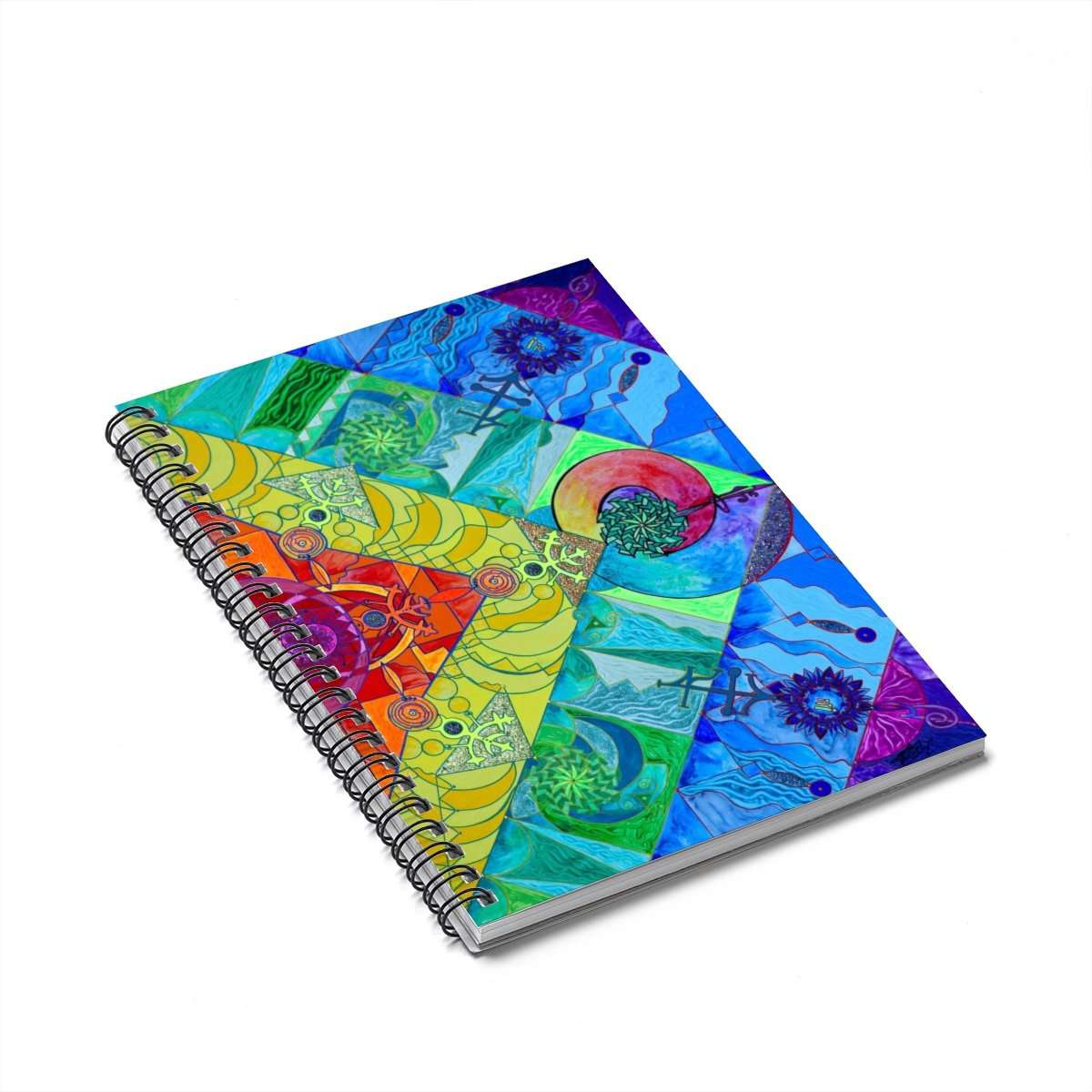 Expanze Pleiadian Light Work Model - Spiral Notebook