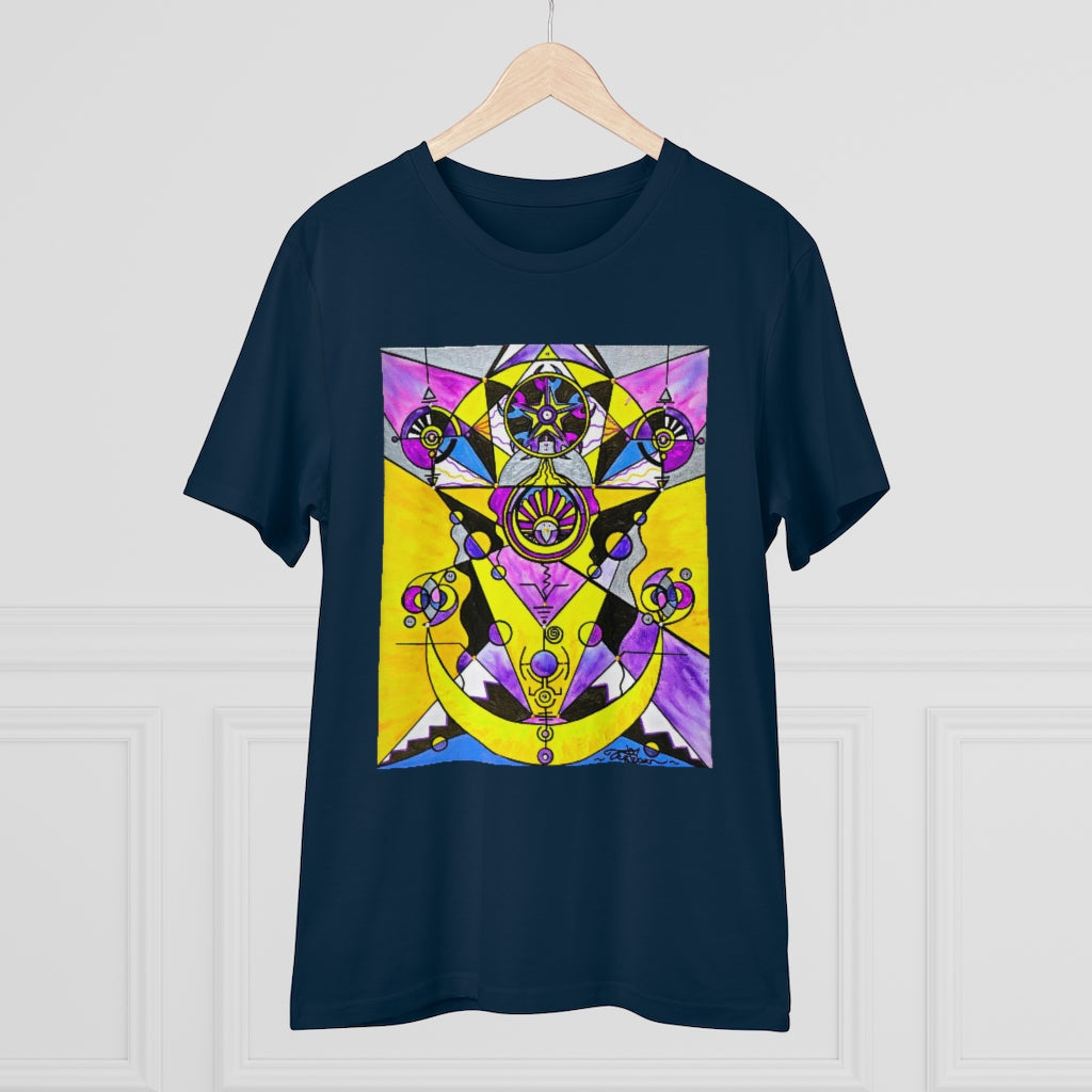 Arcturian Personal Truth Grid - Organic T-shirt - Unisex