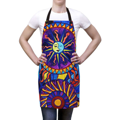 Sun and Moon - Apron