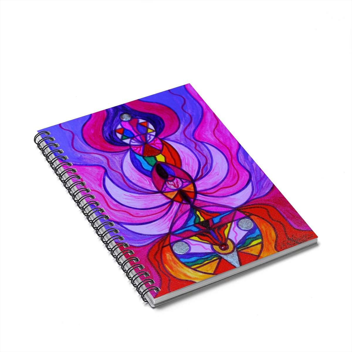 Divine Feminine Activation - Spiral Notebook