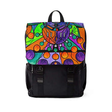 Load image into Gallery viewer, The Sheaf Pleiadian Lightwork Model - Unisex Casual Shoulder Backpack