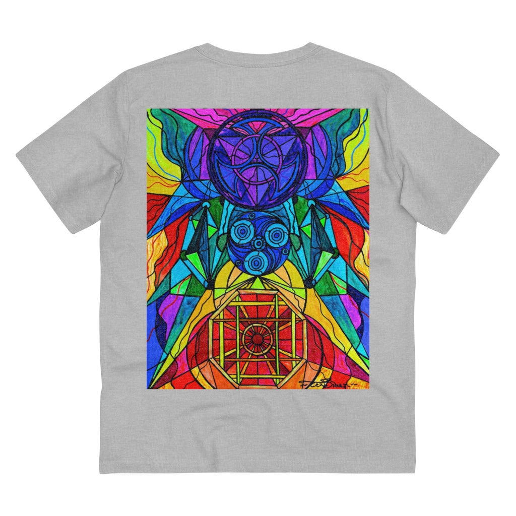 Arcturian Conjunction Grid - Organic T-shirt - Unisex