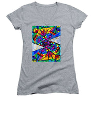 Load image into Gallery viewer, Elucidate Me - Women's V-Neck