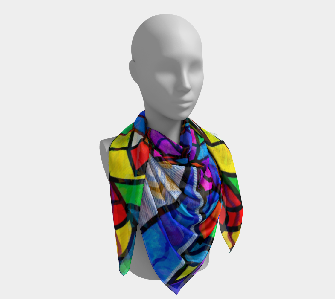 Elucidate Me - Frequency Scarf