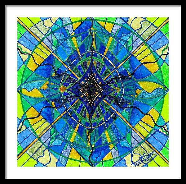 Emotional Expression - Framed Print