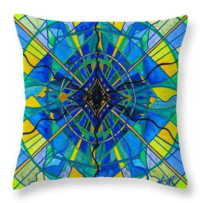 Emotional Expression - Throw Pillow