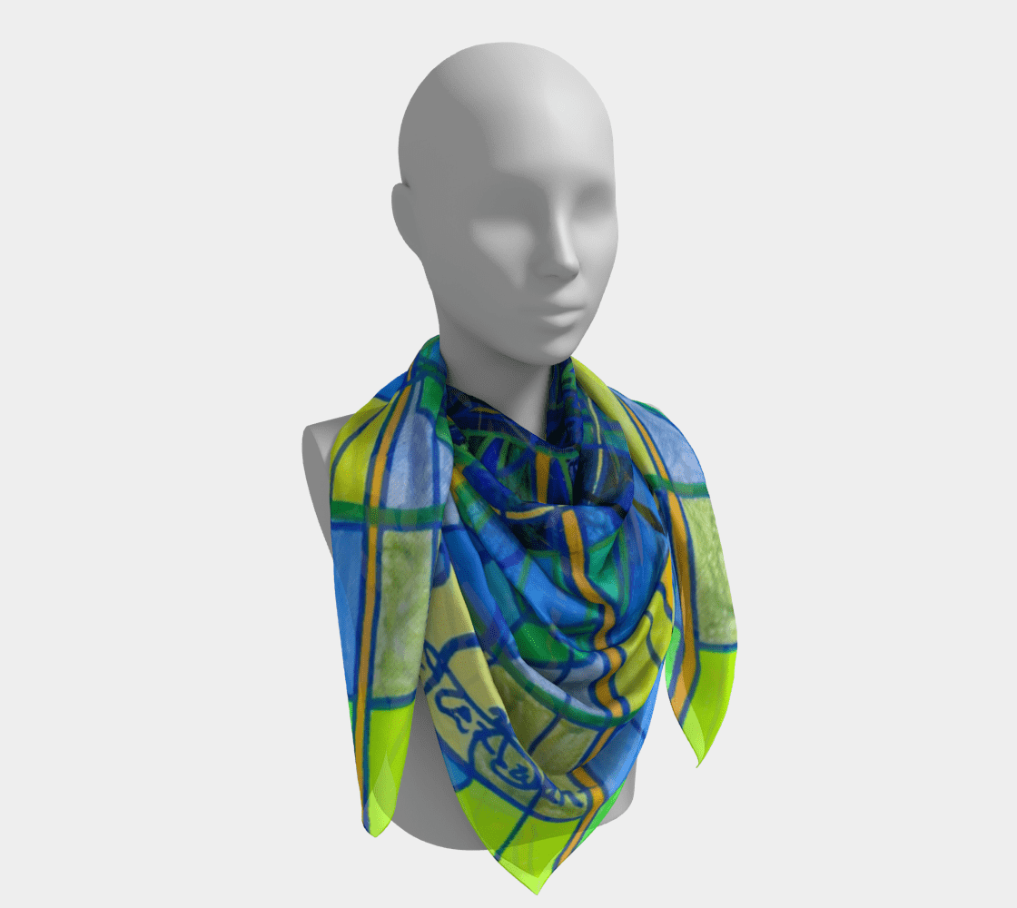 Emotional Expression - Frequency Scarf
