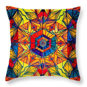 Excitement - Throw Pillow