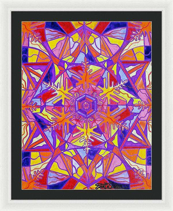 Exhilaration - Framed Print