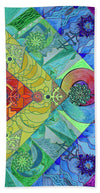 Expansion Pleiadian Lightwork Model - Beach Towel