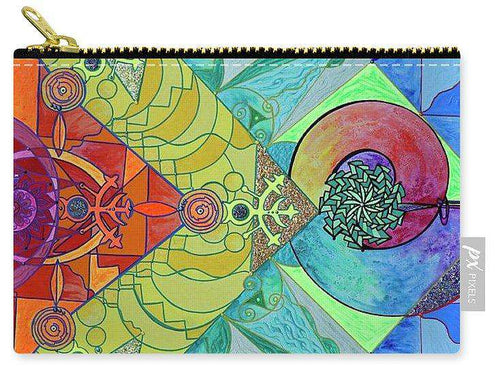 Expansion Pleiadian Lightwork Model - Carry-All Pouch