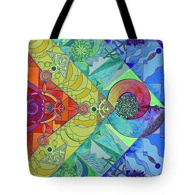 Expansion Pleiadian Lightwork Model - Tote Bag