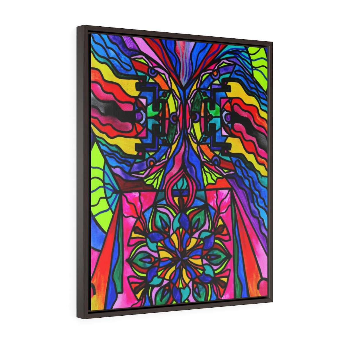 Non Attachment - Vertical Framed Premium Gallery Wrap Canvas