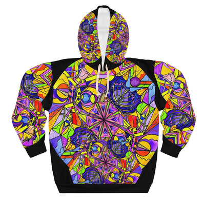 Breaking Through Barriers - AOP Unisex Pullover Hoodie