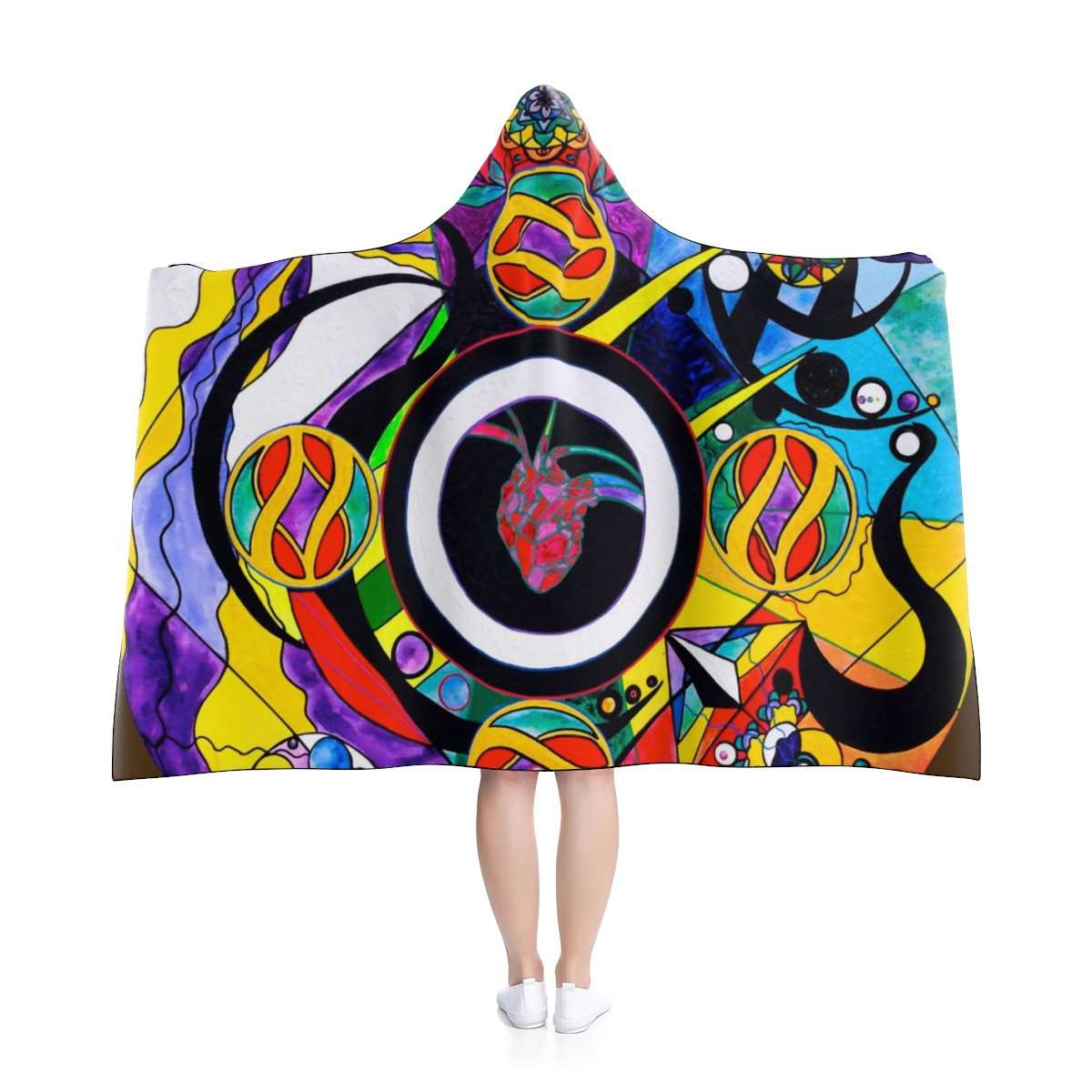 Self Esteem Matrix - Hooded Blanket