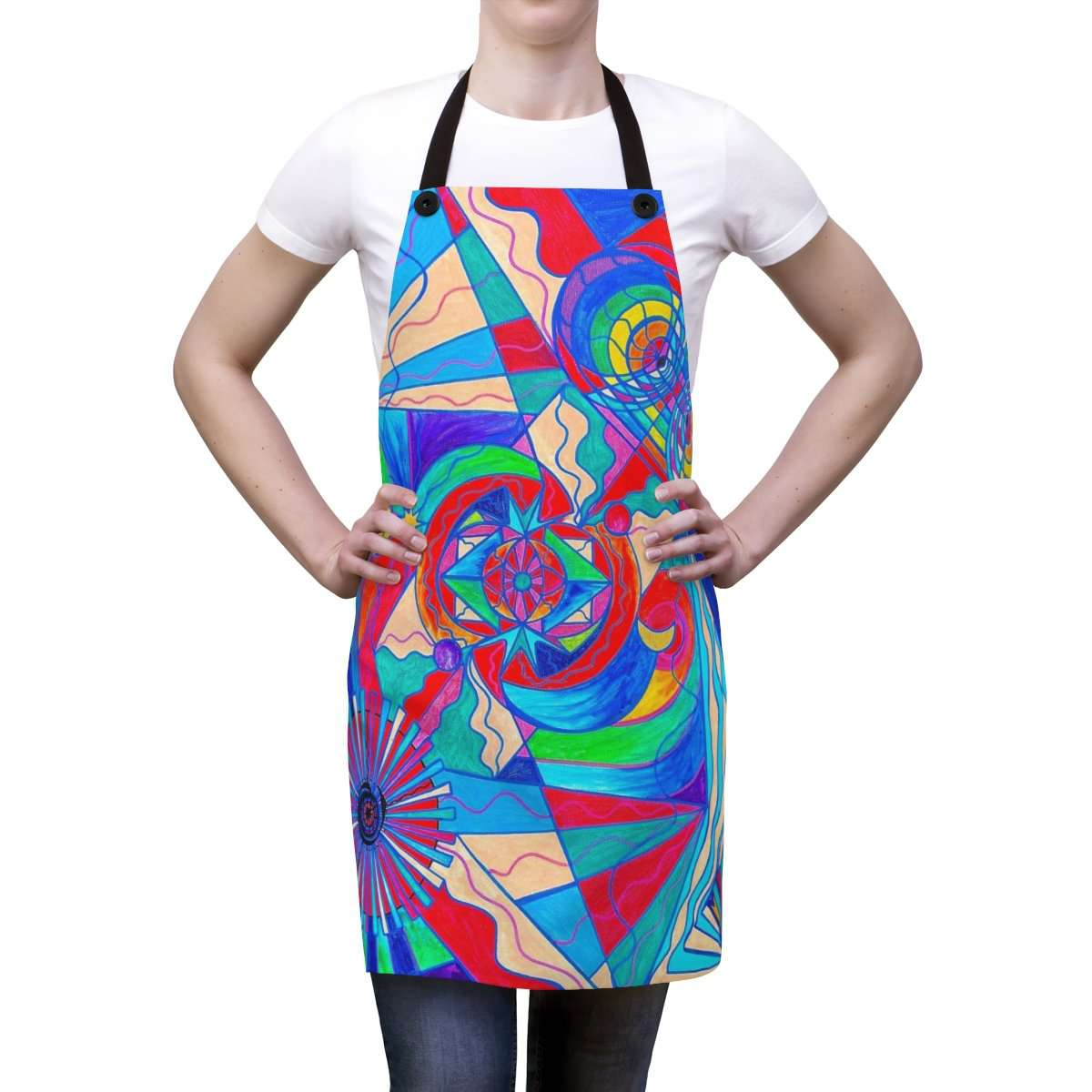 Pleiadian Restore Harmony Lightwork Model - Apron