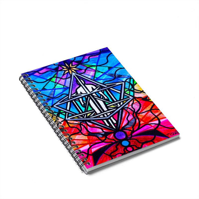 Merkabah - Spiral Notebook