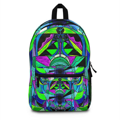 Arcturian Astral Travel Grid - AOP Backpack