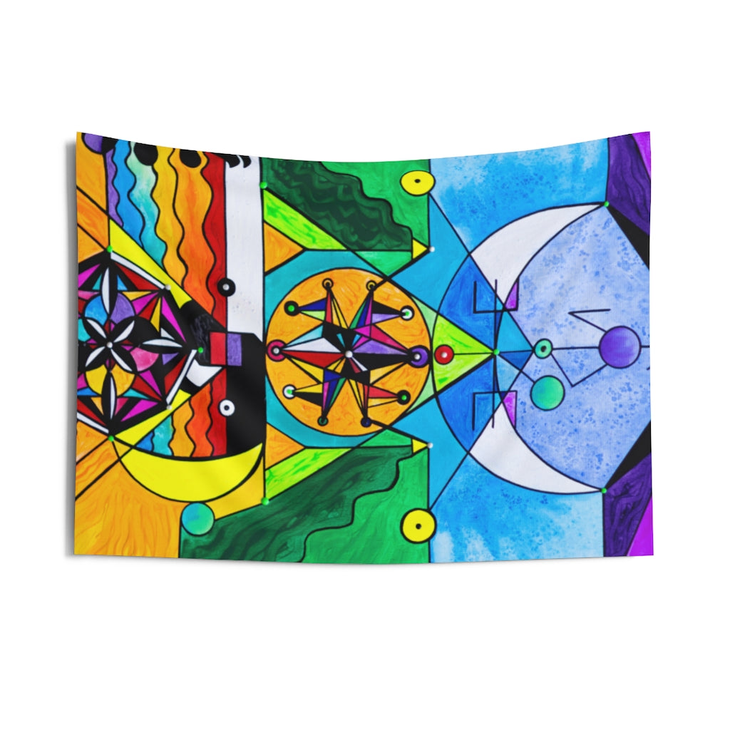 Manifestation Lightwork Model - Indoor Wall Tapestries