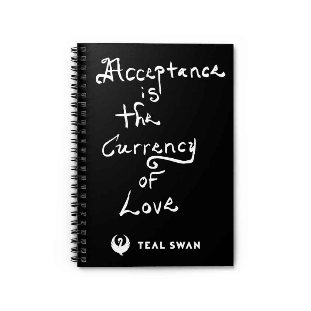 Acceptance Quote - Spiral Notebook