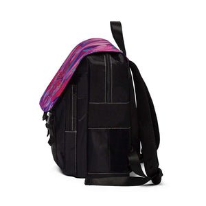 Human Intimacy - Unisex Casual Shoulder Backpack