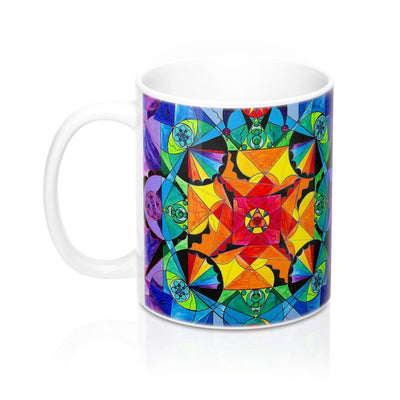 The Way - Arcturian Blue Ray Grid - Mug