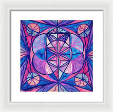 Load image into Gallery viewer, Feminine Interconnectedness - Framed Print