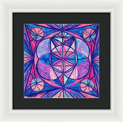 Feminine Interconnectedness - Framed Print