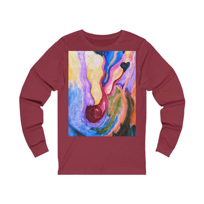 Maternity - Unisex Jersey Long Sleeve Tee