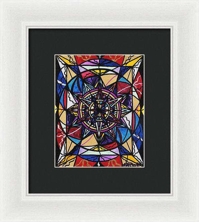 Financial Freedom - Framed Print