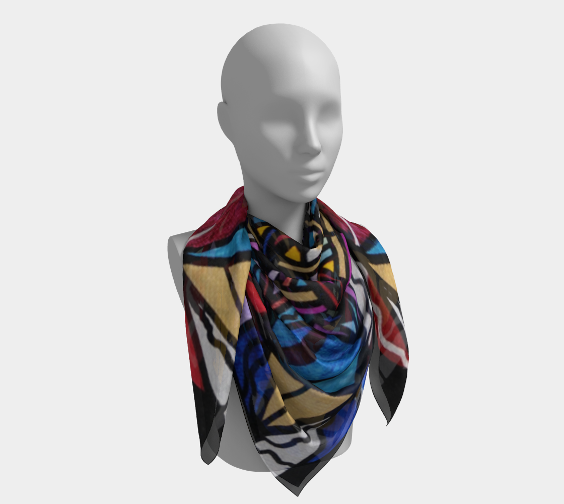Financial Freedom - Frequency Scarf