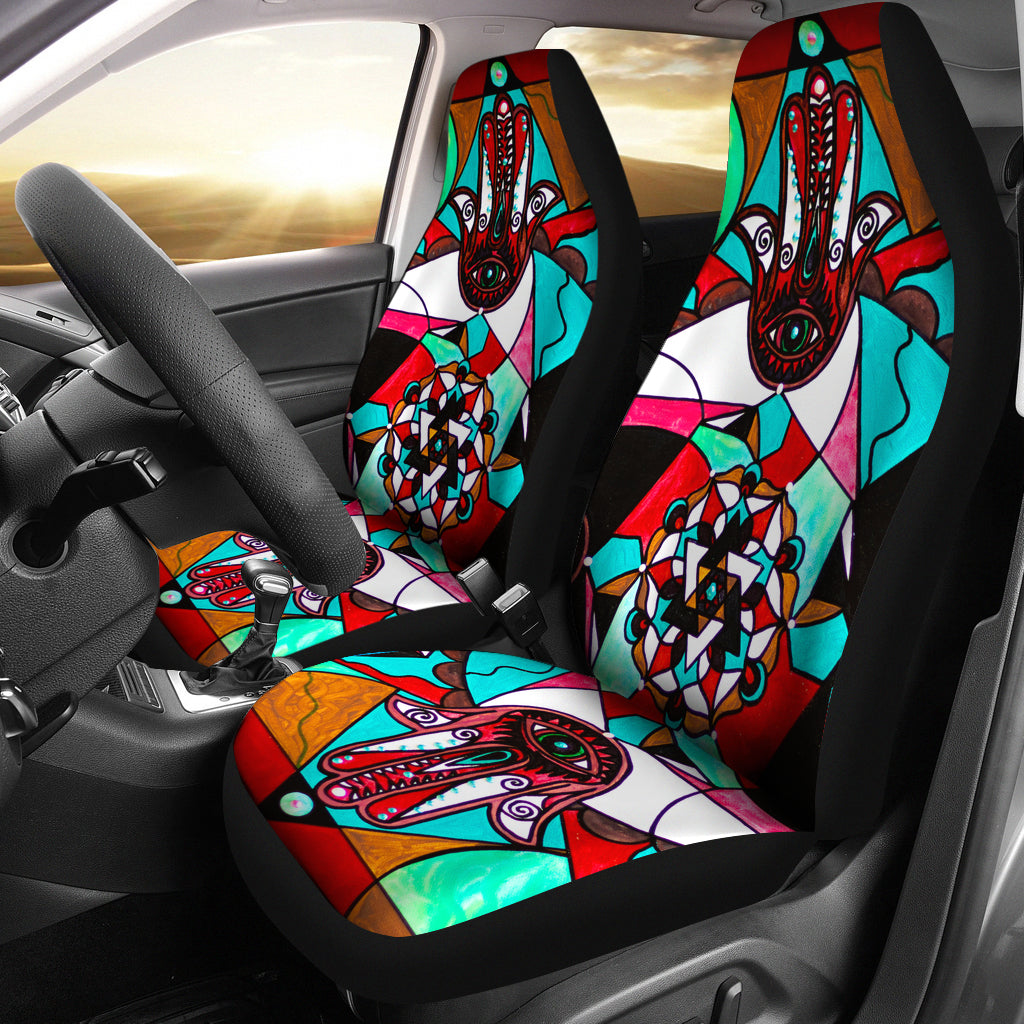 Aura Shield - Car Seat Covers (Set of 2)