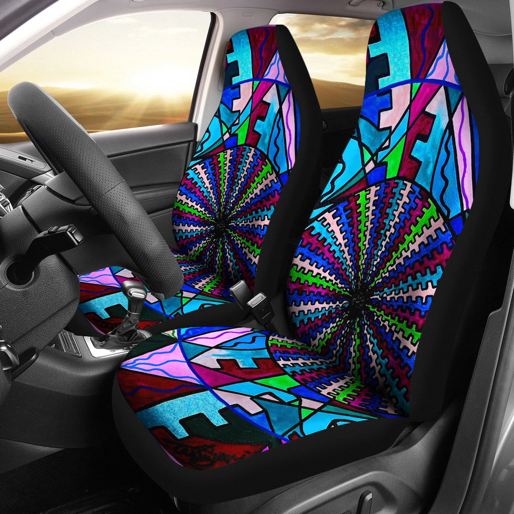 Pleiadian Integration Lightwork Model - Car Seat Covers (Set of 2)