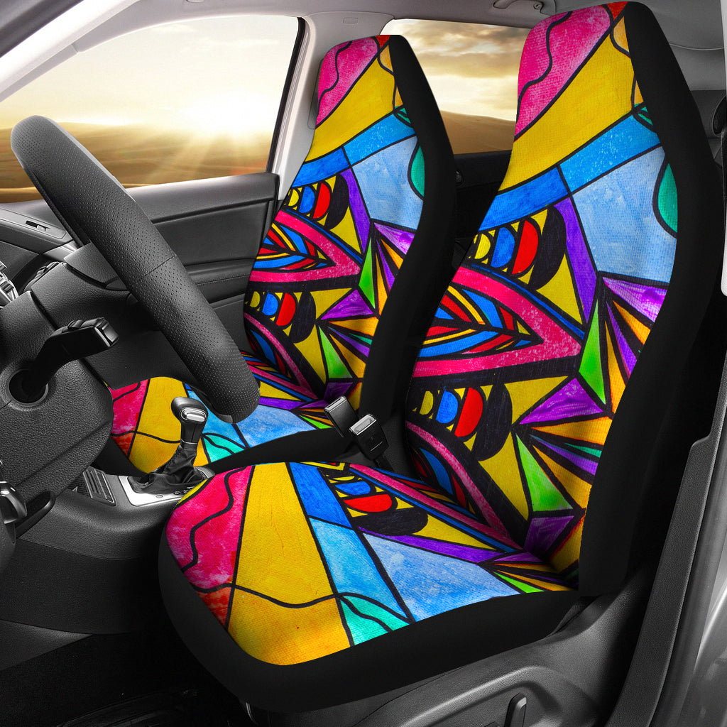 A Change In Perception - Car Seat Covers (Set of 2)