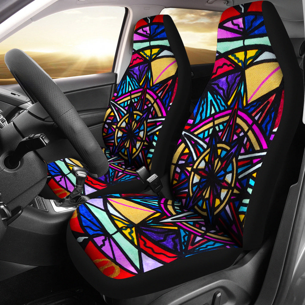 Financial Freedom - Car Seat Covers (Set of 2)