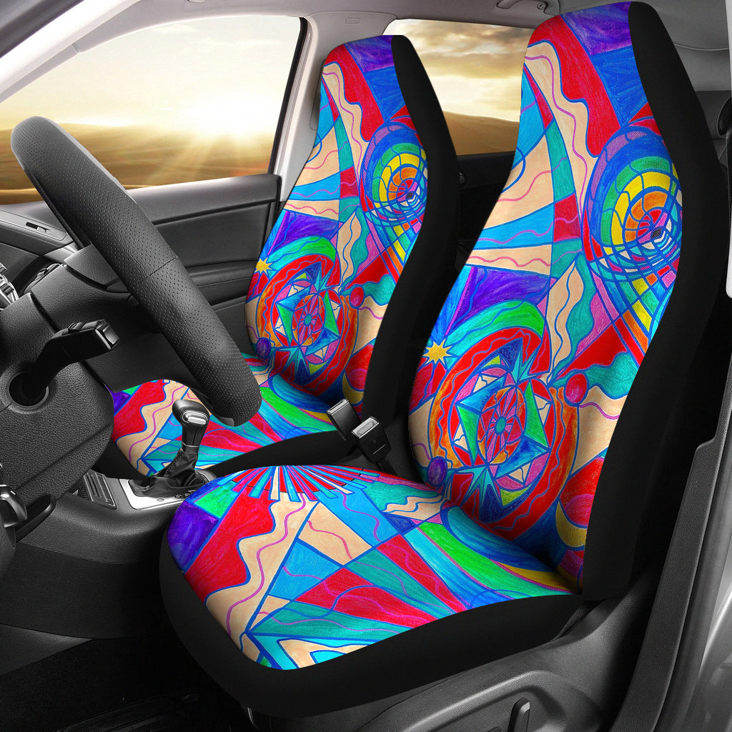 Pleiadian Restore Harmony Lightwork Model - Car Seat Covers (Set of 2)