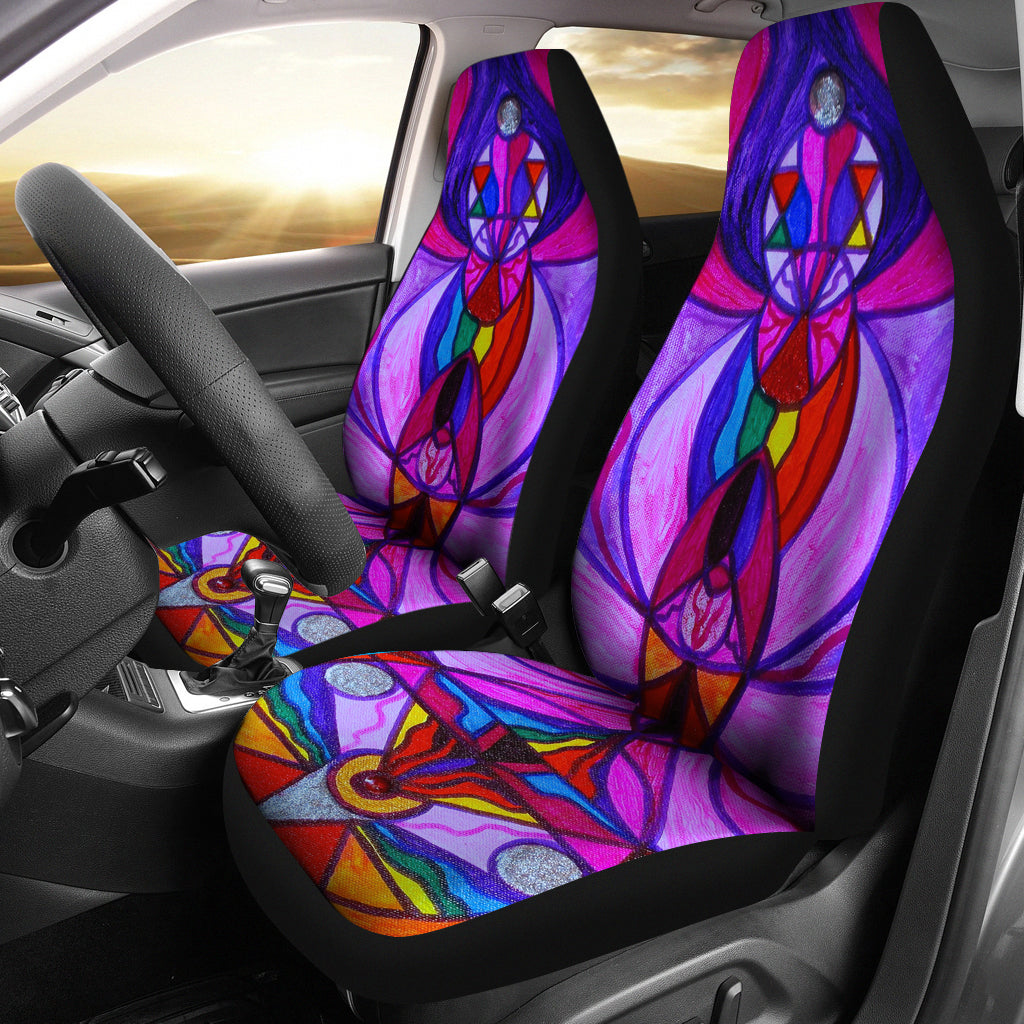 Divine Feminine Activation - Car Seat Covers (Set of 2)