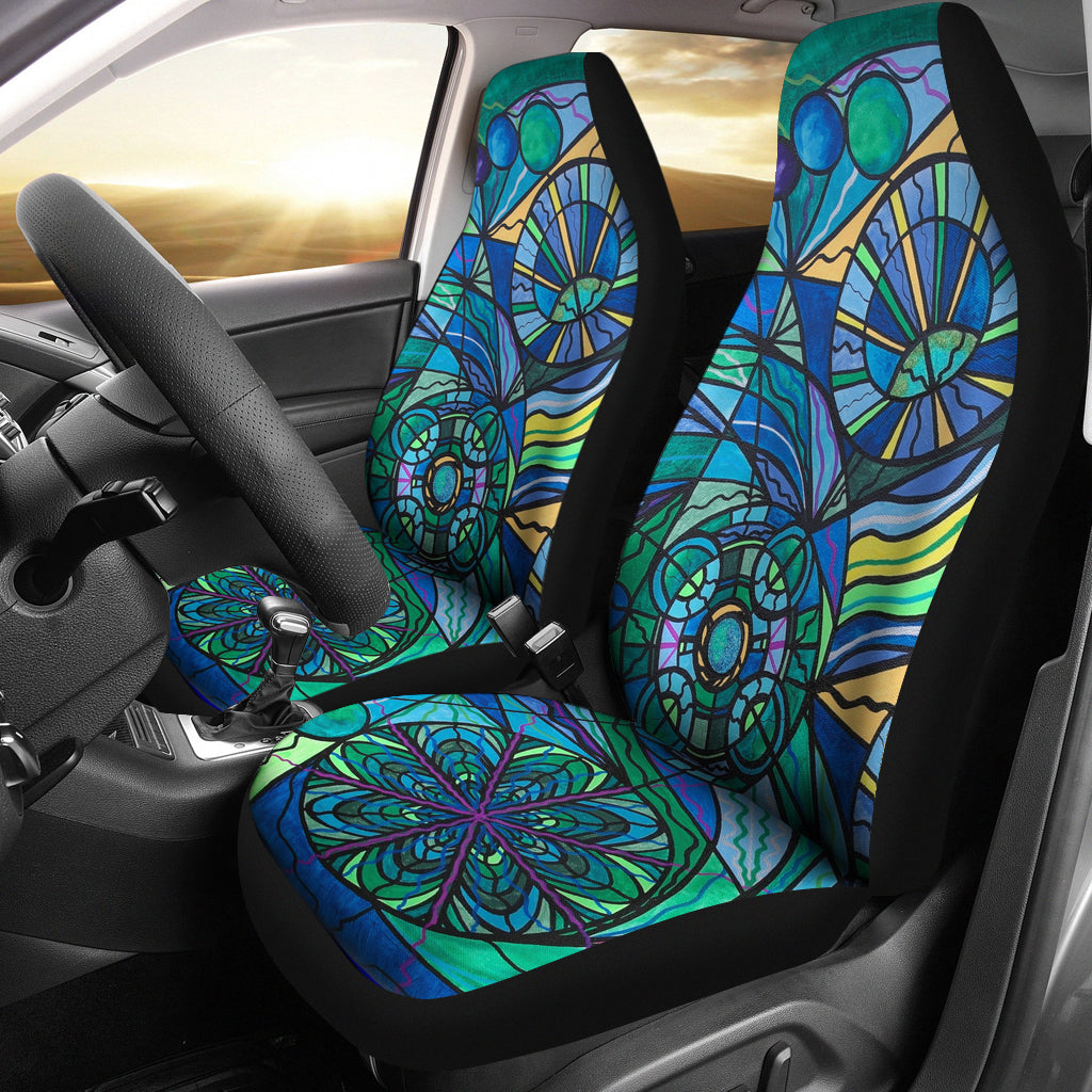 Arcturian Immunity Grid - Car Seat Covers (Set of 2)