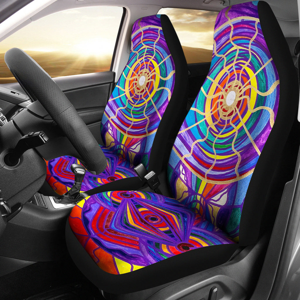 Raise Your Vibration - Car Seat Covers (Set of 2)