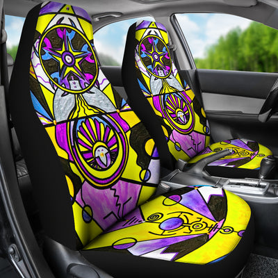 Arcturian Personal Truth Grid - Car Seat Covers (Set of 2)
