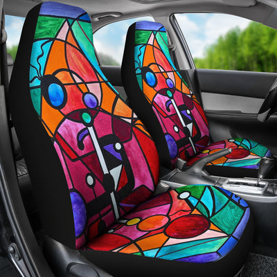 Arcturian Divine Order Grid - Car Seat Covers (Set of 2)