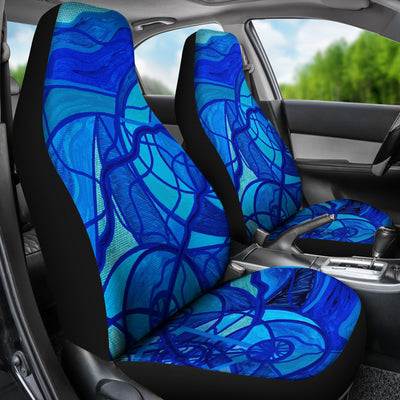 Arcturian Calming Grid - Car Seat Covers (Set of 2)