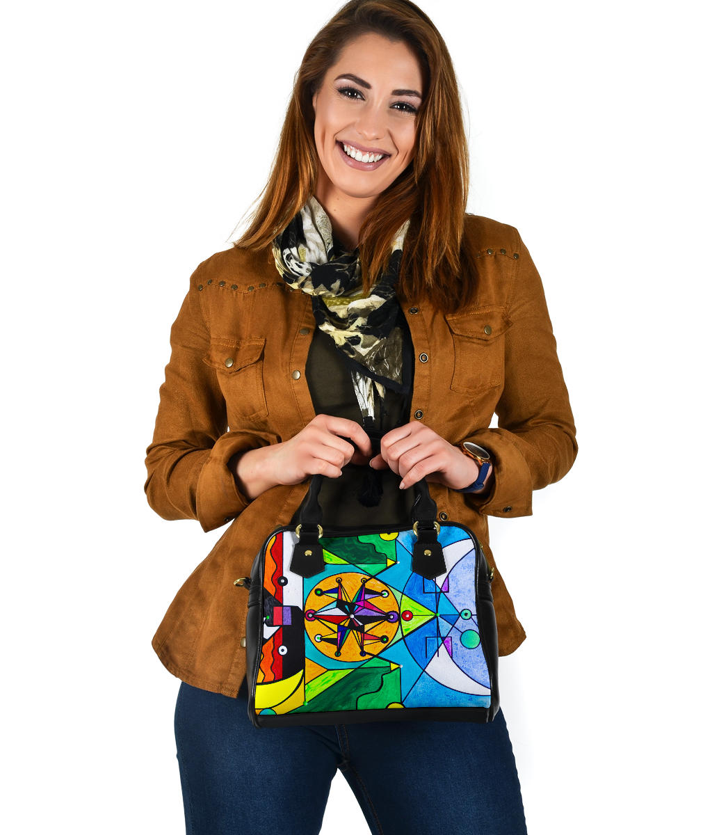 Manifestation Lightwork Model - Vegan Shoulder Handbag