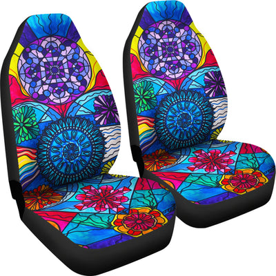 Speak From The Heart - Car Seat Covers (Set of 2)