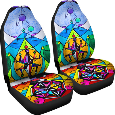 Manifestation Lightwork Model - Car Seat Covers (Set of 2)